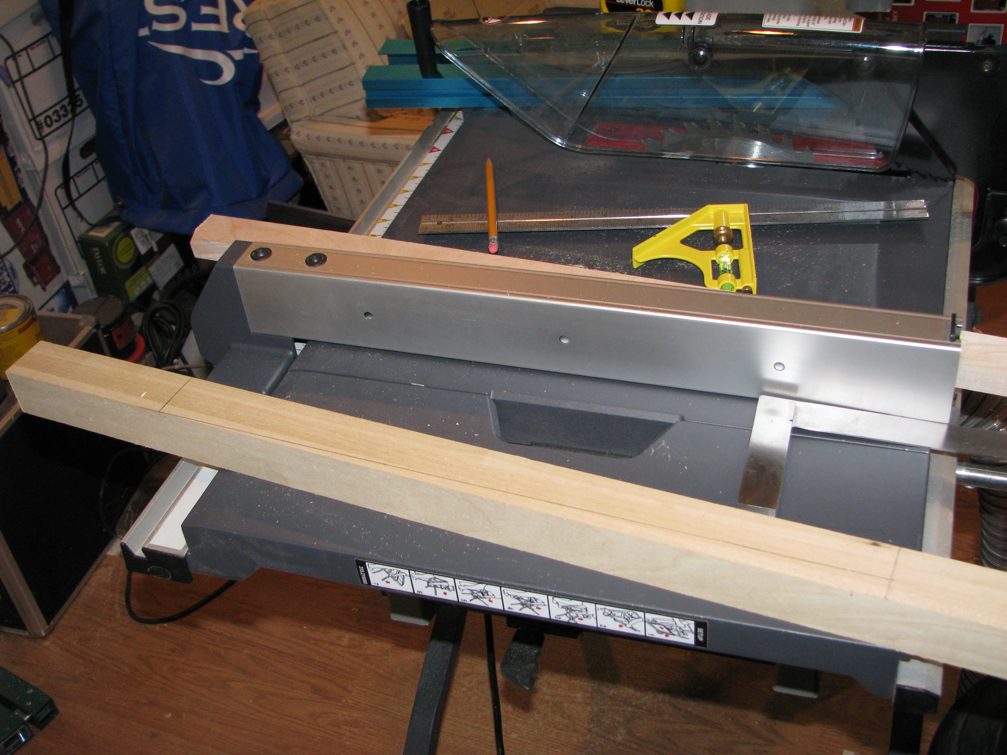woodworking 90 degree jig